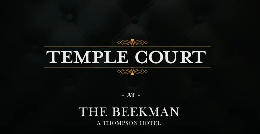 Temple Court and Beekman Logos